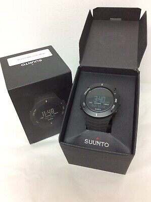 Suunto Core Smart Watch Mountaineering Trail Running Classic Ultimate Black NOB
