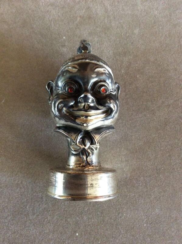 Palmer Cox Brownie Sterling Silver Bottle Stopper