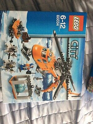 LEGO City:  Arctic Helicrane (Set 60034) **Brand New In Box**