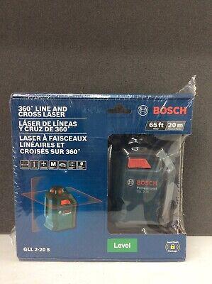 Bosch 65 ft. Self Leveling 360 Degree Horizontal Cross Line Laser Level