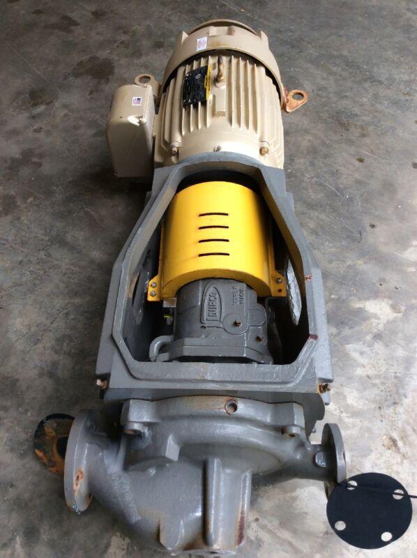 Flowserve Durco MK3 Vertical In-Line Size-2K3X2V-10RV/7.31 Baldor 30 HP 230/460V