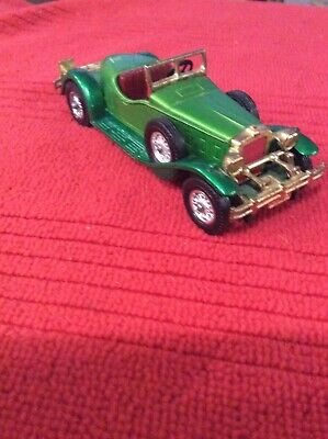 VINTAGE MATCHBOX MODELS OF YESTERYEAR 1931 STUTZ BEARCAT NO. Y-14