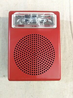 Cooper Wheelock E50-24mcw Speaker Strobe Fire Alarm