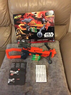 Extremely Rare nerf star wars Chewbacca Bowcaster Free Postage