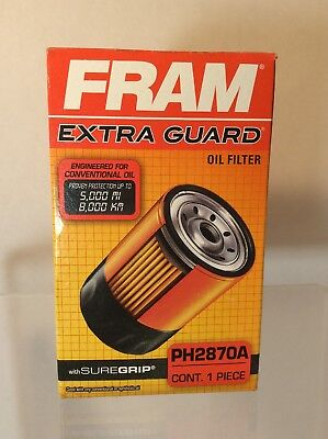 Fram PH2870A Full-Flow Lube Spin-On Extra Guard Oil Filter