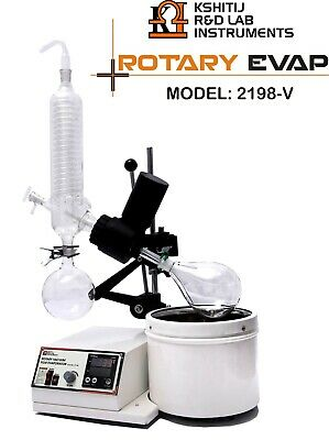 Rotary Vacuum Evaporator With Glass Parts Digital Vertical