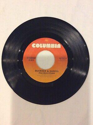 Buckner & Garcia Pac-Man Fever Vintage Vinyl 45 Single