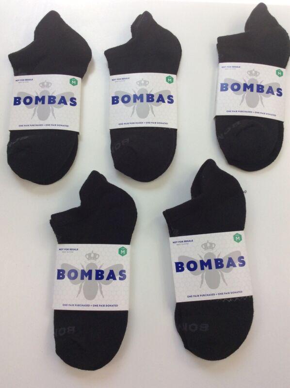 Lot of 5 Pair - New - Genuine Bombas Ankle Socks - Women