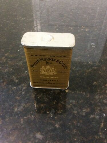Vintage PHILIP MORRIS & Co Ltd. Small Tobacco Tin