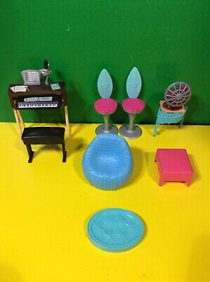Lot of Barbie Furniture & Home Accessories