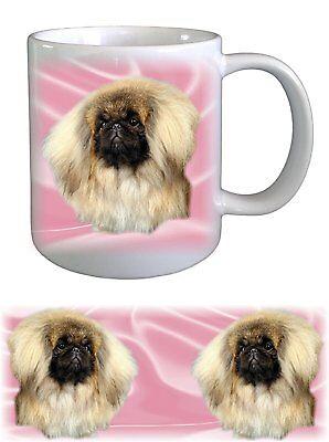 Pekingese Dog Ceramic Mug by paws2print