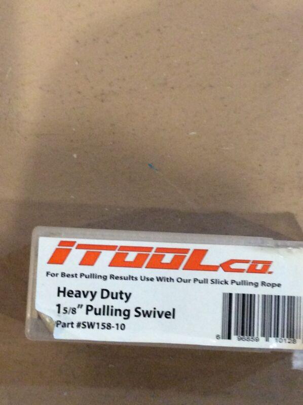 """iTOOLco SW-158 1-5/8"""" 10,000 lb Capacity Line Swivel"""