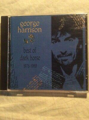 George Harrison CD Best of Dark Horse (1976-1989) Warner Beatles No