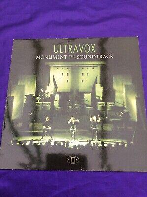 """Usado, Ultravox, Monument Soundtrack, Live Album, 12"""" Vinyl Lp Record comprar usado  Enviando para Brazil"""