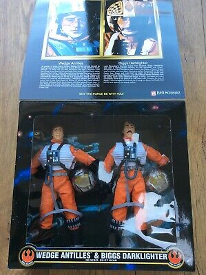 STAR WARS 12IN FIGURES MINT IN BOX KENNER Action Collection Wedge Antilles & Big