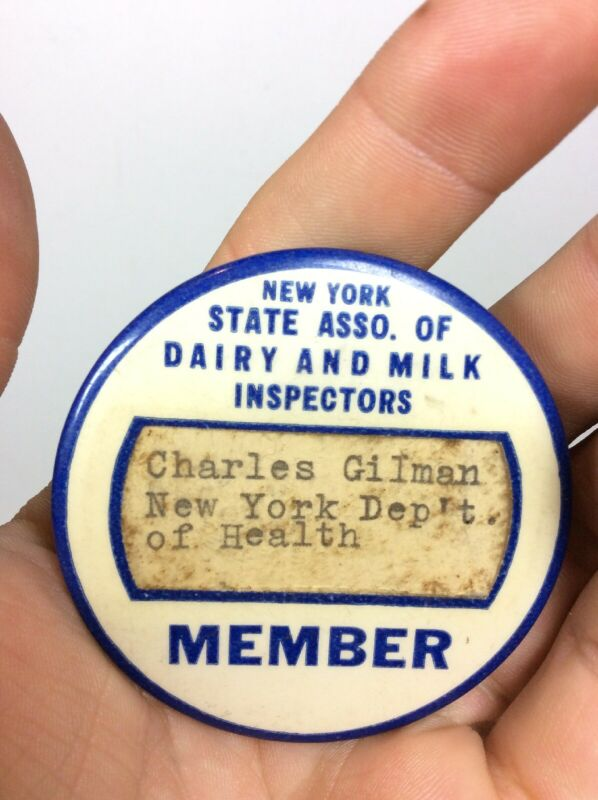 NEW YORK DEPARTMENT HEALTH STATE ASSOCIATION OF DAIRY AND MILK INSPECTORS MEMBER