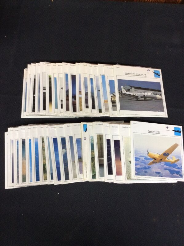 Lot of 36 Edito War Plane Sealed Card Sets