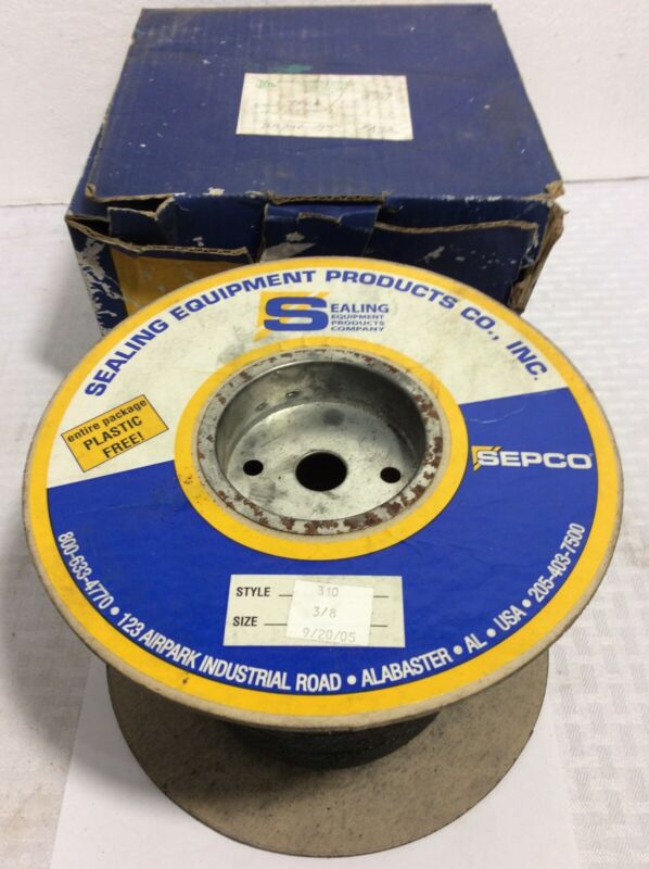 "SEPCO 3/8"" COMPRESSION PACKING STYLE 310 5LB"