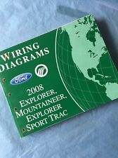 2008 FORD EXPLORER MERCURY MOUNTAINEER WIRING DIAGRAMS ...