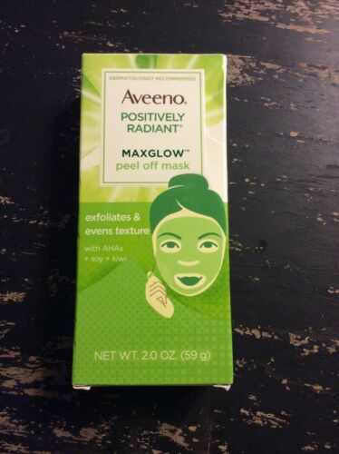 Aveeno Positively Radiant MaxGlow Peel Off Mask 2oz