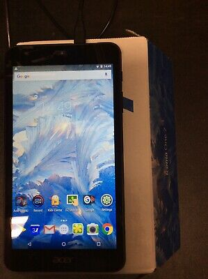 Tablet Acer Iconia One 7 16GB 1Gb Ram Wi-Fi Black B1-790 Android 6.0