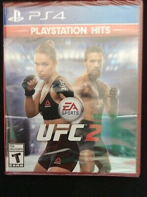 Used, PS4 UFC 2 PlayStation Hits Playstation 4 Brand New Factory Sealed Free Shipping for sale  Shipping to Nigeria