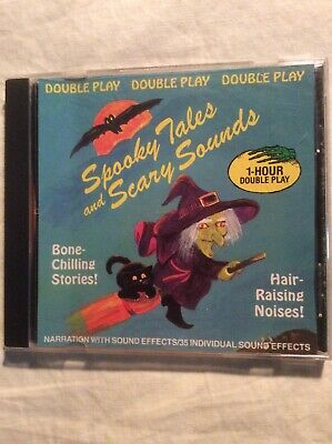 Spooky Tales & Scary Sounds CD Narration, Music, Sound Effects 1993 Halloween](Spooky Scary Halloween Music)