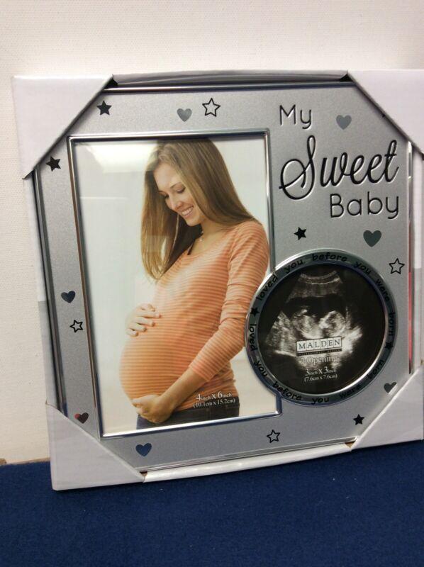 Malden International Designs My Sweet Baby Sonogram Photo Picture Frame   (S)