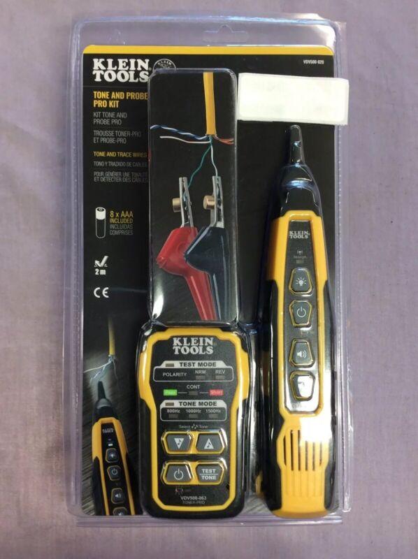 Klein Tool Cable Tracer & Probe Tone Kit (RJ11 & RJ12)(RJ45) Coax (New & Sealed)