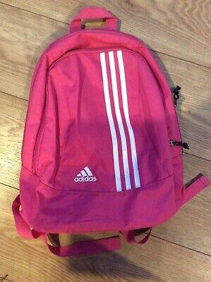 Adidas Pink Backpack Rucksack