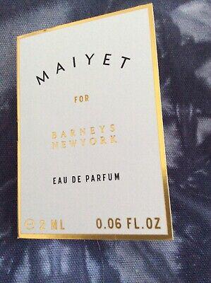 Maiyet Perfume Eau De Parfum 2ml Sample Barneys New York New
