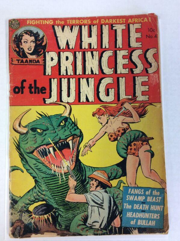 White Princess of the Jungle #4 1952