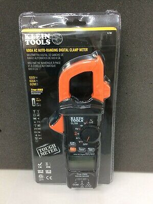 Klein Tools Cl700 600 Ac True Rms Auto-ranging Digital Clamp Meter Brand New