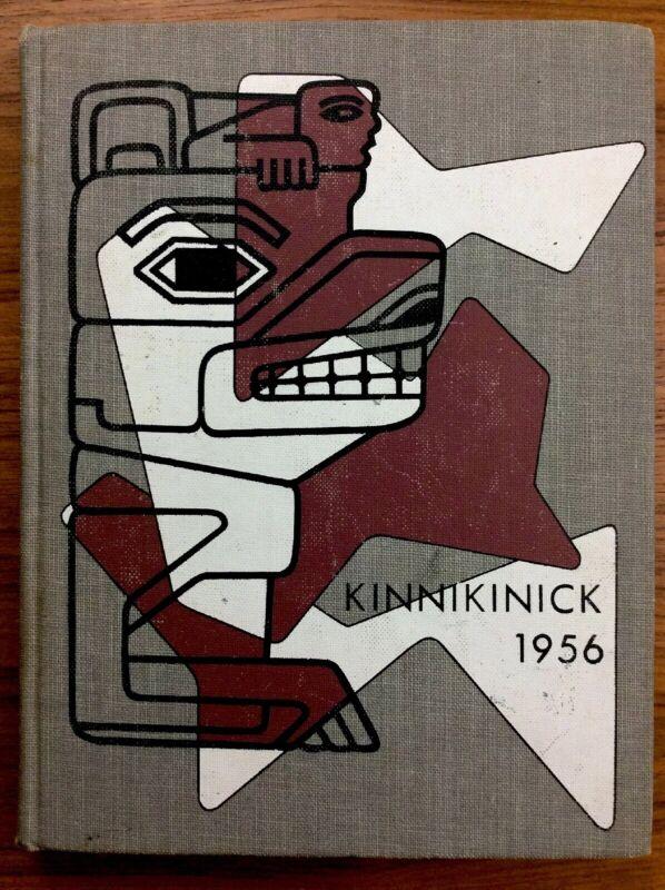 1956 Eastern Washington College Of Education YEARBOOK Annual KINNIKINICK