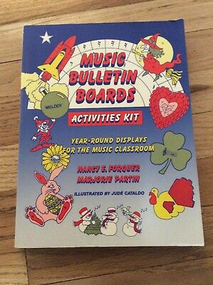 (Music Bulletin Boards Activities Kit Forquer)