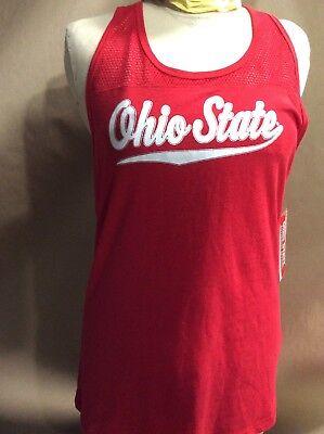 Ohio State University Buckeyes Women's Tank Top RED Various Sizes New With (Ohio State University Top)