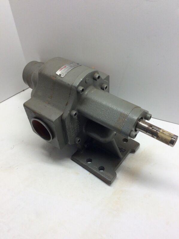 FLOWSERVE 7GASM1D0 Line-A Hydraulic ROTARY GEAR PUMP *NEW*