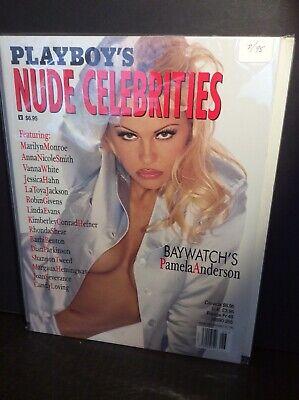 Playboy's Magazine Nude Celebrities   Pam Anderson Marilyn Monroe
