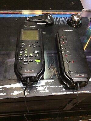 Wavetek Cli-1750 Catv Signal Level Leakage Meter Kit Lst-1700