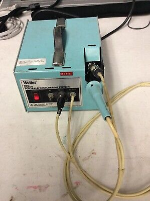 Weller Ds600 Portable Desoldering Station W Ec234 Iron