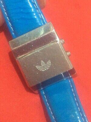 Vintage Adidas Originals drivers  wrist watch; VERY RARE Red Digital Dispay