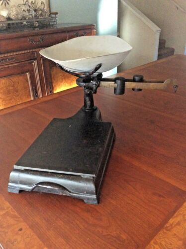 1906 Antique Scale American Cutlery Co. Chicago USA 5 lbs