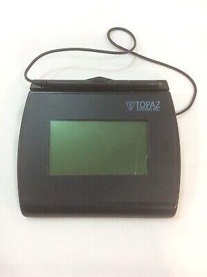 Topaz T-lbk755-bhsb-r Signature Capture Pad Usb.