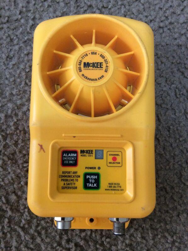 McKee 120-E Communication Speaker Box HoistCom Standard Unit I366