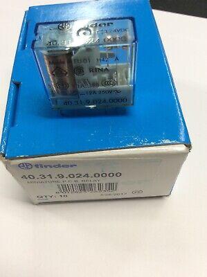 Finder 403190240000- 24 Volt Pcb Miniture Relay