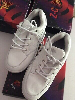 z coil shoes womens 6. Freedom. White. New In Box.