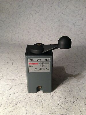 New 58r42 Furnas Reversing Drum Switch Series A