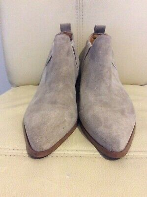 Womens KENDALL AND KYLIE Brown Suede Ankle Boots UK Size 7 (M)