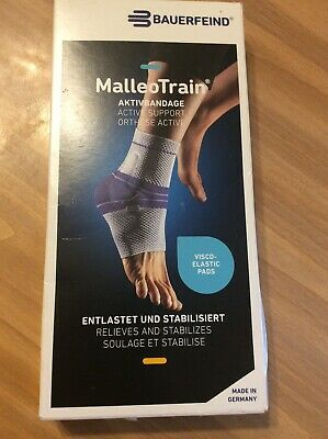 Bauerfeind MalleoTrain Plus Active Ankle Support Brace -Size 3 Left