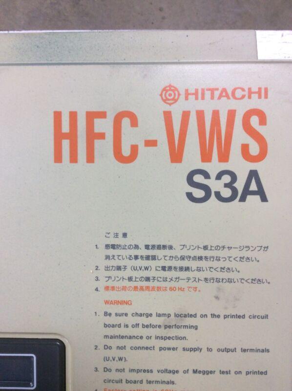 Hitachi HFC-VWS S3A Frequency Converter    11LF3A